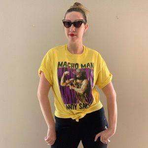 Vintage Macho Man Randy Savage T-Shirt